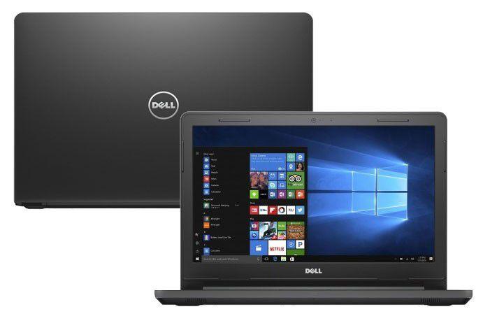 Nb Dell Vostro 3468 I5-7200U 3.1Ghz|1Tb|8Gb|Dvd|14|Win10Home|Preto