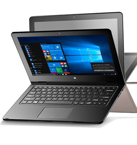 Notebook Multilaser 2 Em1 M11W Nb258 Intel Atom|2Gb|32Gb|11.6 Touch| Cinza