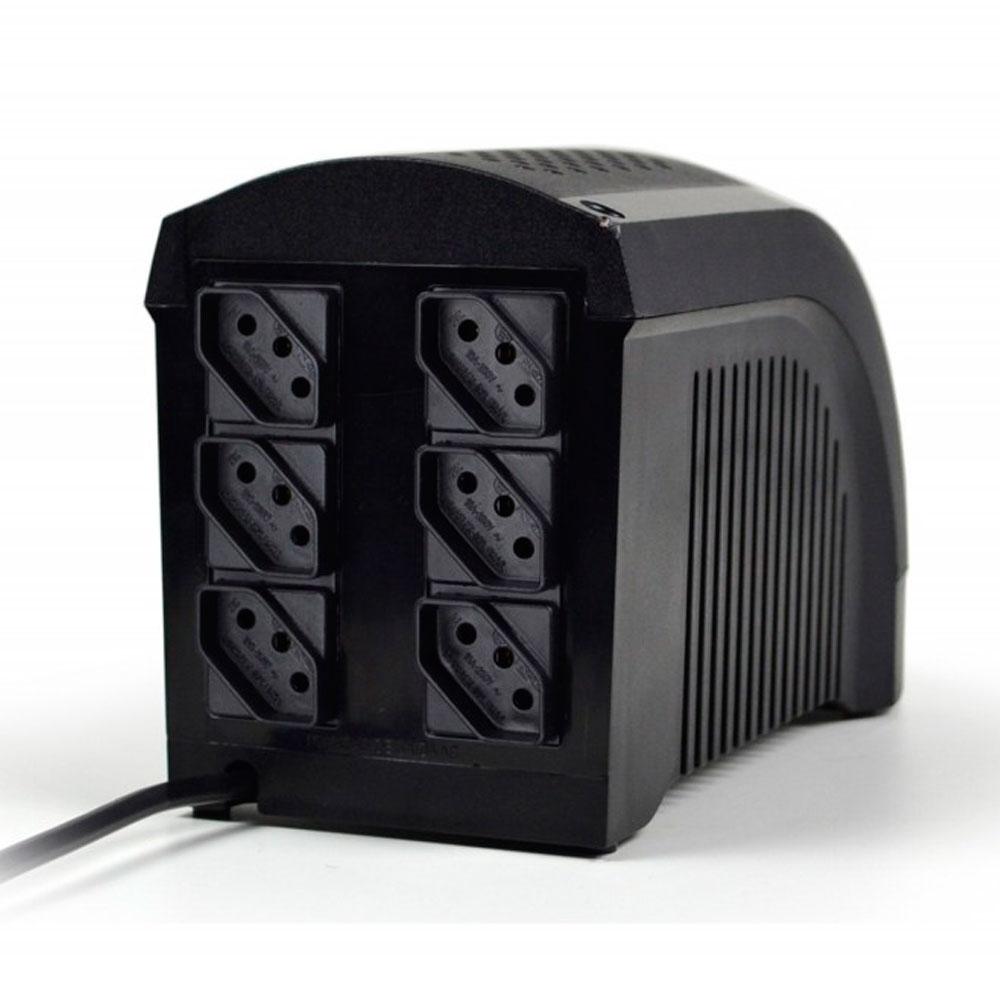 Nobreak Ts Shara Ups Mini 600Va Bivolt Preto