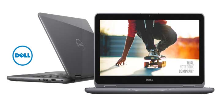 Notebook Dell Inspiron 3168 Pentium N371 2.56Ghz| 500Gb| 4Gb| 11| Touch| Windows 10 Home