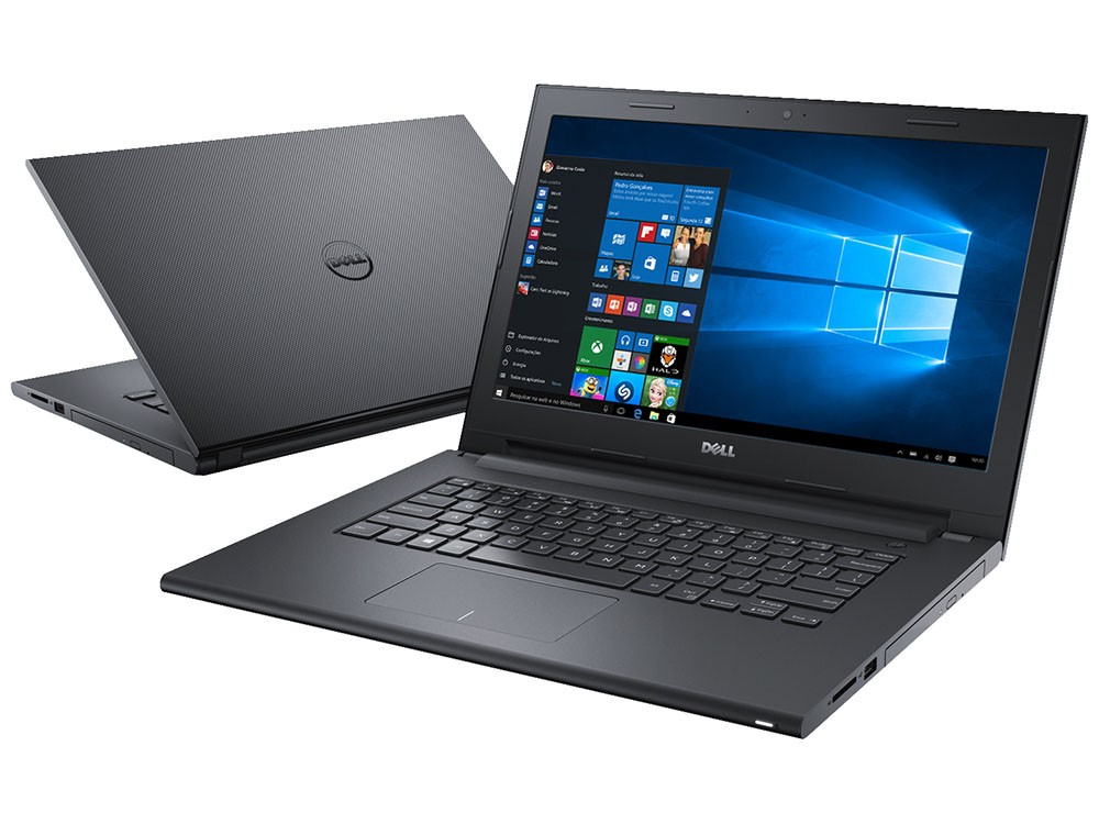 Notebook Dell Inspiron 3442 Core I5-4210U 1.6G|1Tb| 8Gb| Dvd|Gt-820M(2Gb)| Tela 14| Win10 Home Preto