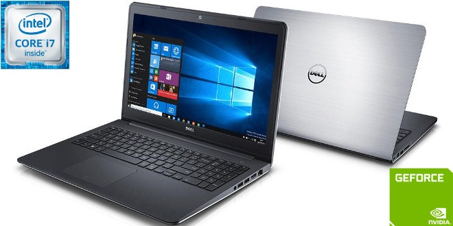 Nb Dell Inspiron 5557 Core I7 6500U 2.5Ghz/1Tb+8Gb/16Gb/Gf-930M(4Gb)/15/W10Home