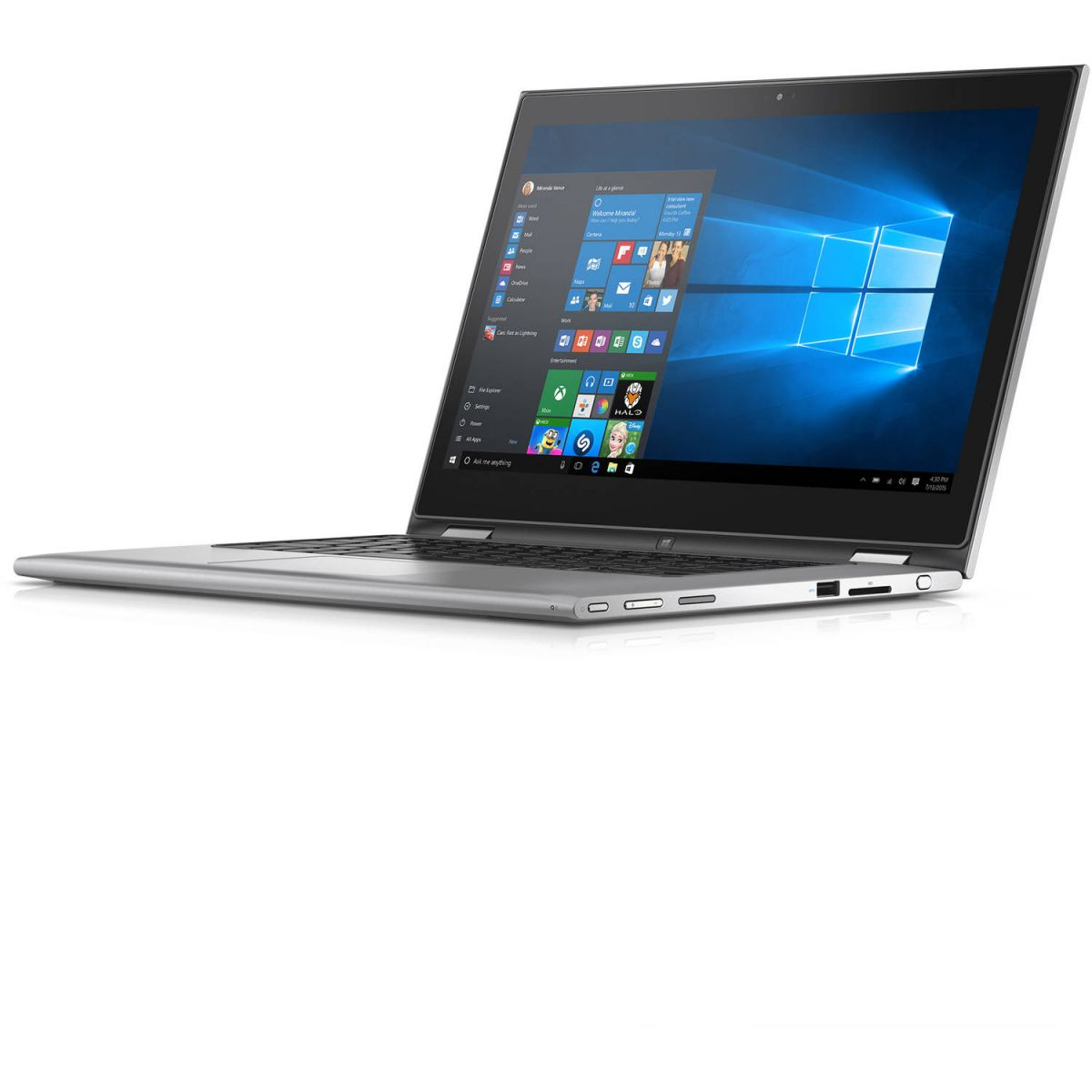 Notebook Dell Inspiron 7359 2-1 I7-6500U 3.1Ghz| 500Gb| 8Gb| 13| Touch| W10Hom| Cinza