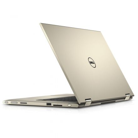 Notebook Dell Inspiron 7359  I7 6500U 3.1Ghz |Ssd120Gb |8Gb Ram |Tela 13 Touch |Win 10 Home |Golden