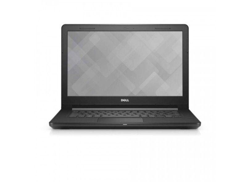 Notebook Dell Vostro 3468 I5-7200U 3.1Ghz 500Gb   4Gb  Dvd  Tela 14  Windows 10 Home  Preto