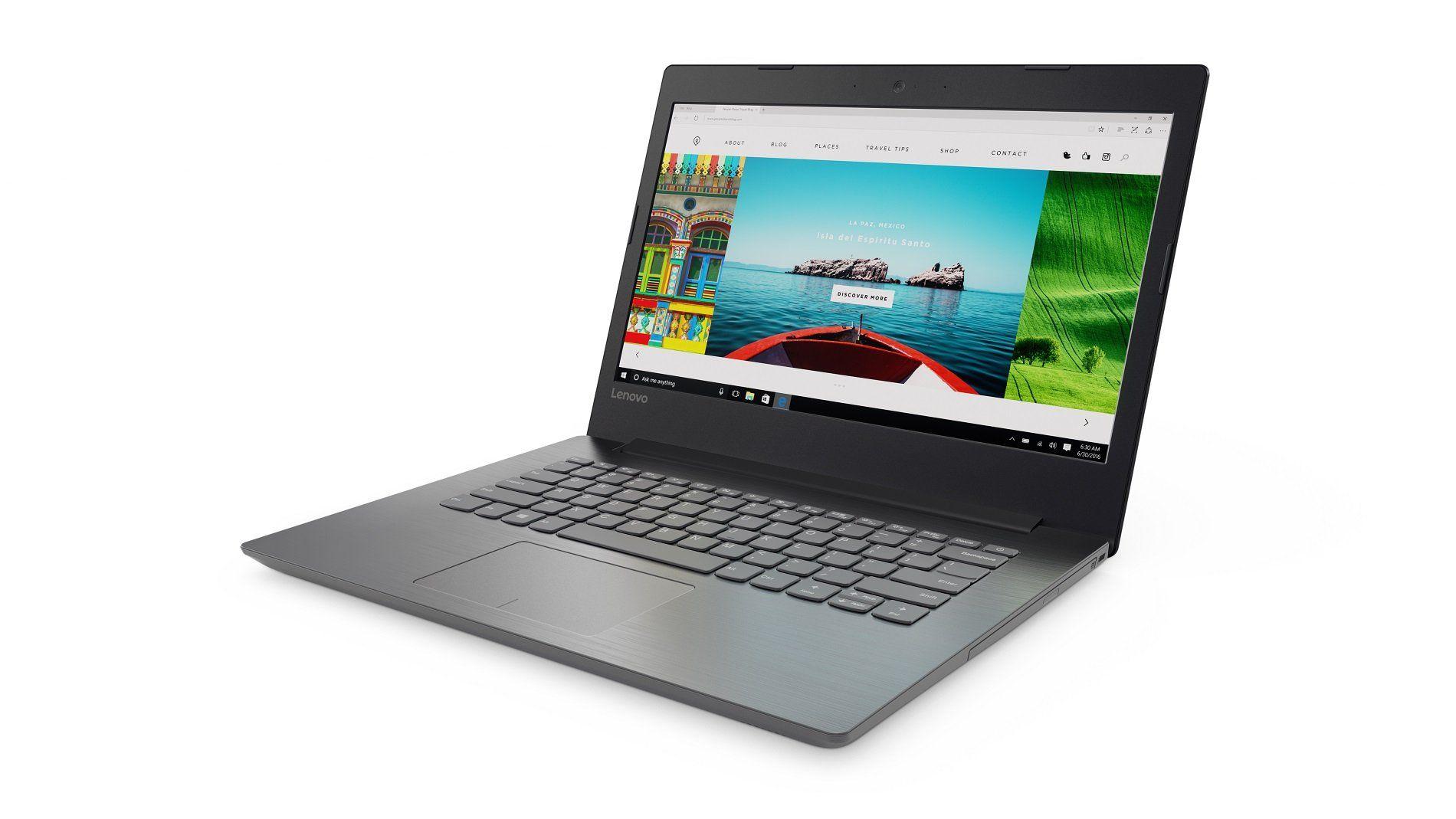 Notebook  Lenovo B320-14Ikbn Ci3 6006U 2.0Ghz/500Gb /4Gb /Tela 14 /W10Home Preto