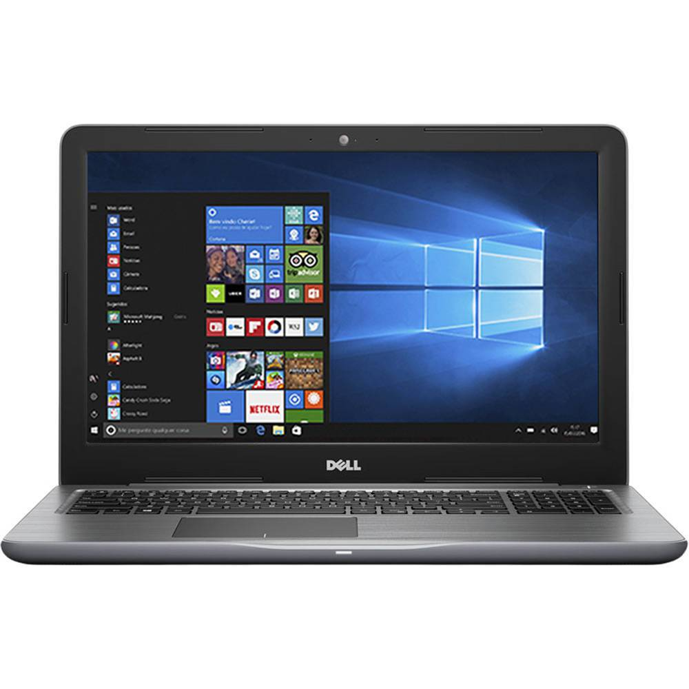 Notebook Dell Inspiron 5567 I5-7200U 2.5Ghz|1Tb |8Gb |Dvd |15 |W10Home Cinza Ol