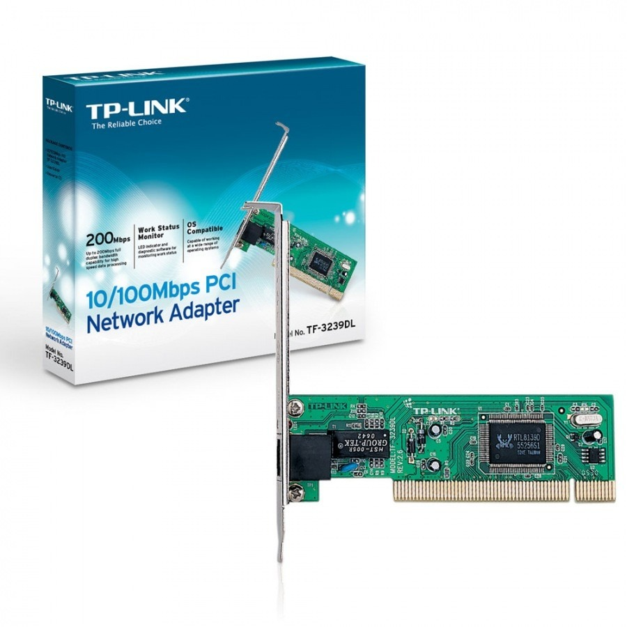 Placa De Rede Pci 10/100 Tp-Link Tf-3239Dl