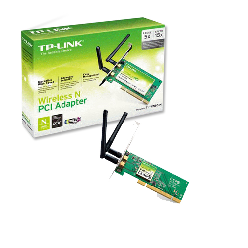 Placa De Rede Pci Wir Tp-Link Tl-Wn851Nd 300Mbps