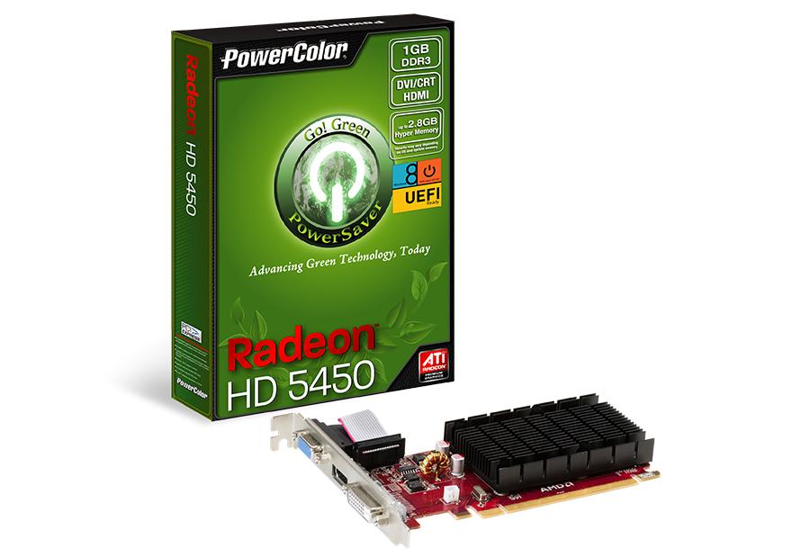 Vga Pci-E 1Gb Power Color Hd5450