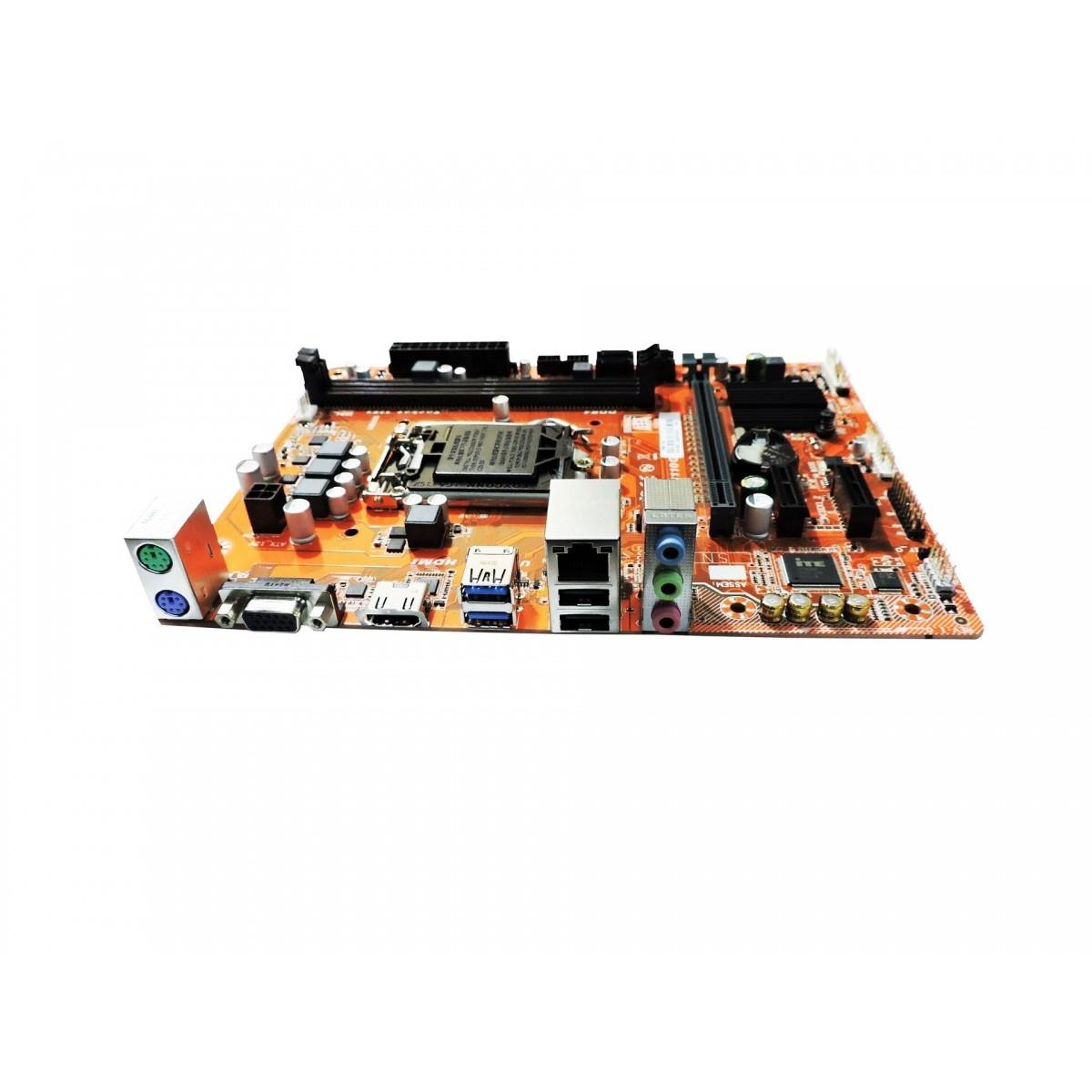 Placa Mae 1151 Pcware Ddr4 Ipmh110G Hdmi| Vga