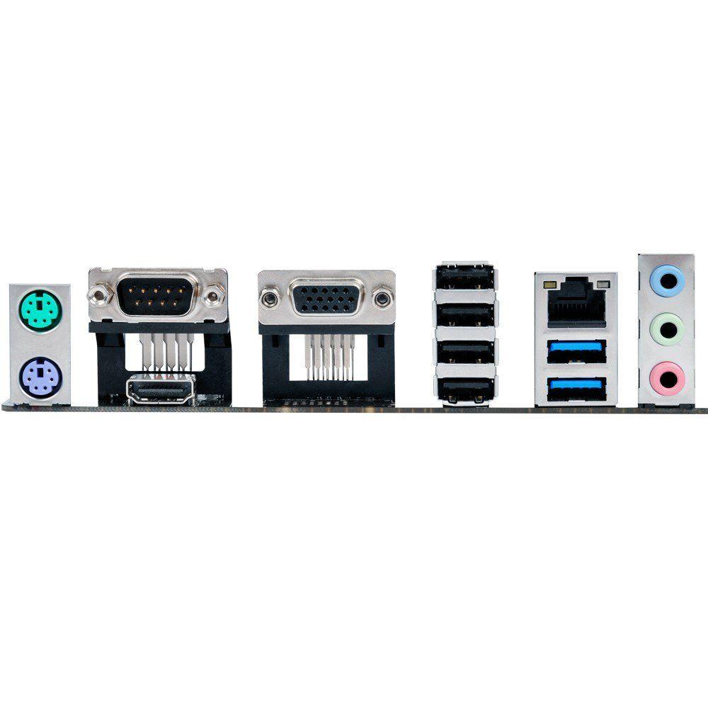 Placa Mae Intel 1151 Asus H110M-C Ddr4/Hdmi/Vga/Serial/Usb 3.0