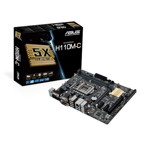 Placa Mae Intel 1151 Asus H110Mcs Ddr3