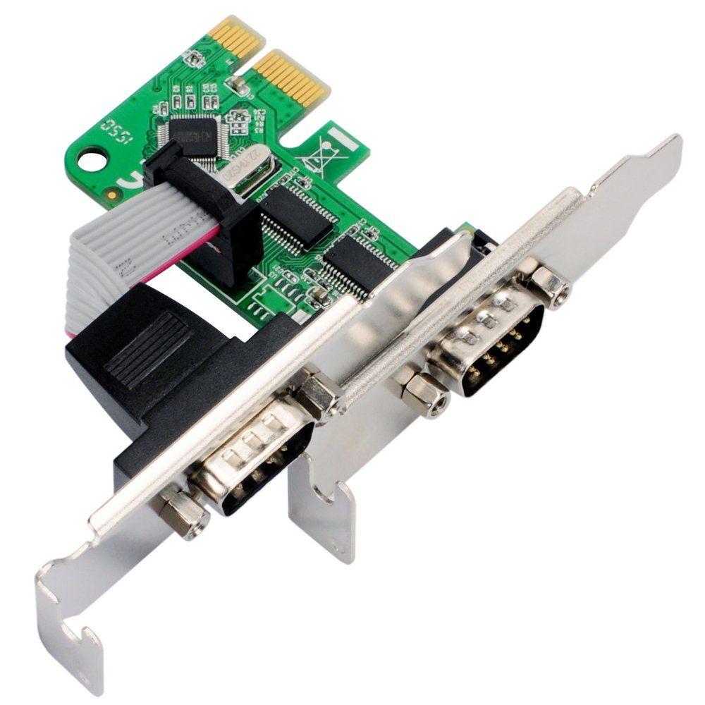 Placa Pci Serial 2 Portas Comtac (Low Profile)
