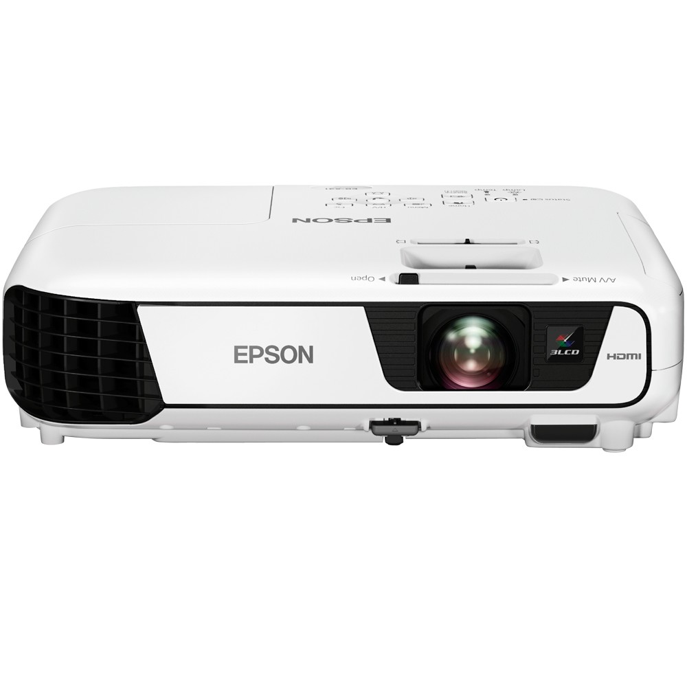 Projetor Multimidia Epson X36+ 3600 Lumens Vga/Hdmi - Branco