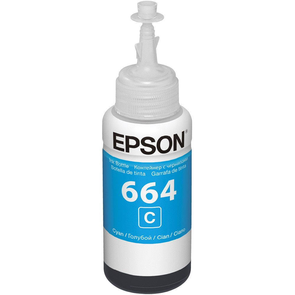 Refil De Tinta T664220-Al 70Ml  Ciano Epson
