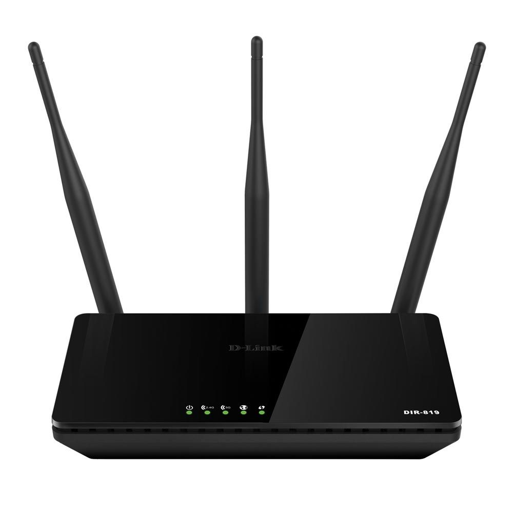 Roteador Wireless Ac 750Mbps Dual Band Cloud Dir819 Dlink