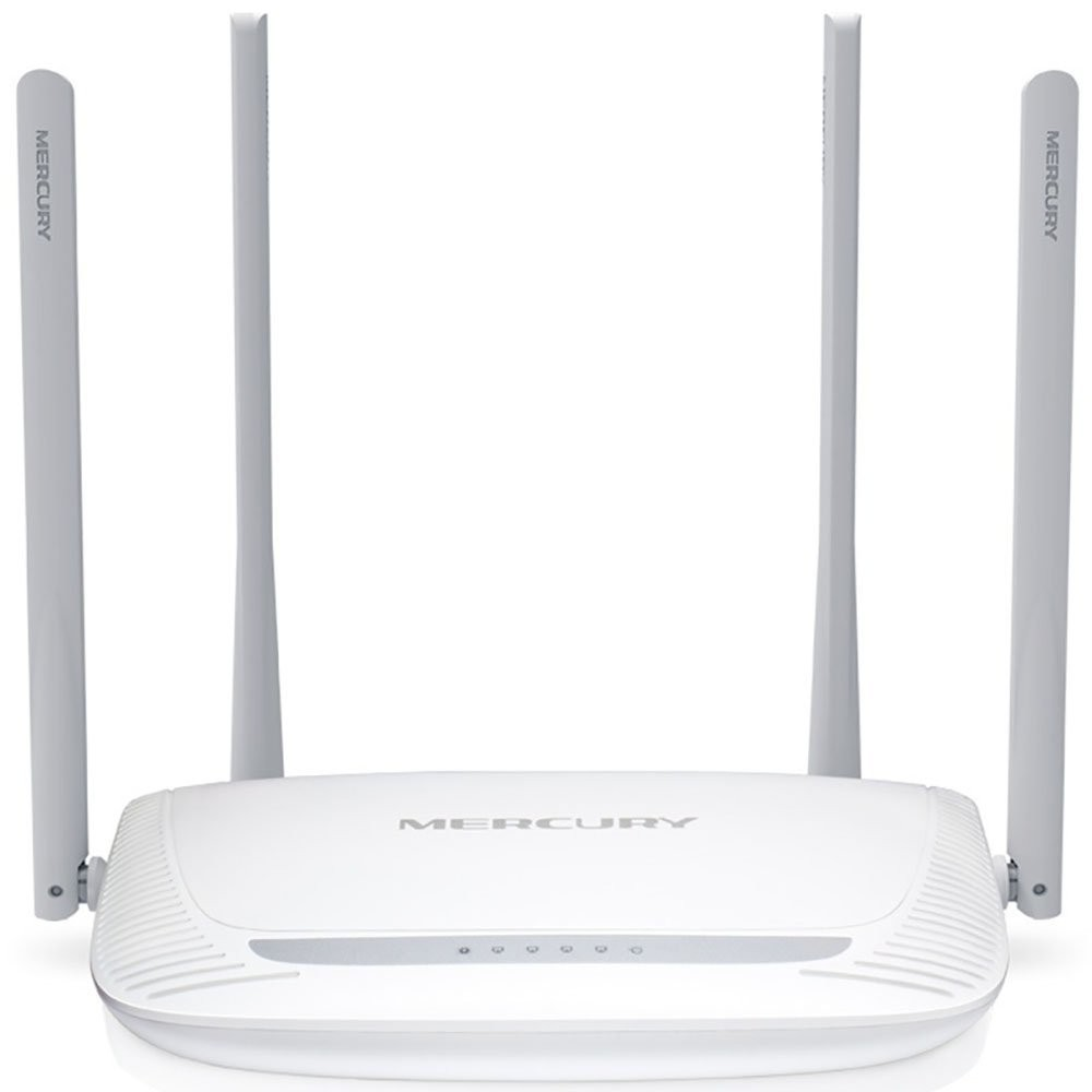 Roteador Wireless N Mercusys 300Mbps Mw325R 4 Antenas