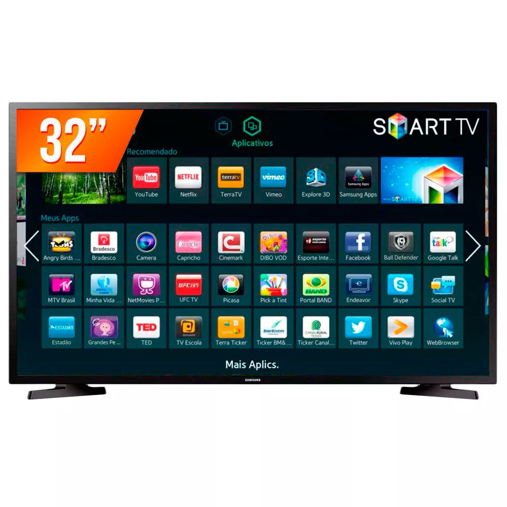 Smart Tv Led 32 Samsung 32J4290 2Xhdmi| 1Xusb