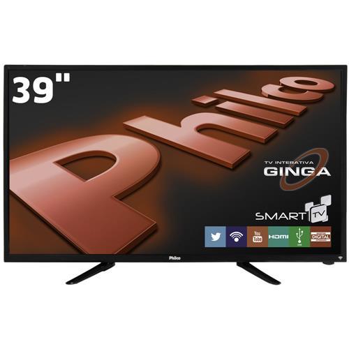 Smart Tv Led 39 Philco Ph39N86Dsgw 3 Hdmi 1 Usb Wi-Fi