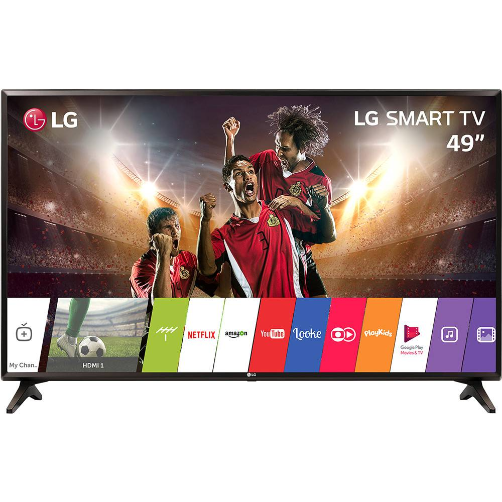 Smart Tv Led 49 Lg Lj5500 Full Hd| Wi-Fi| 2Xhdmi| 1Xusb