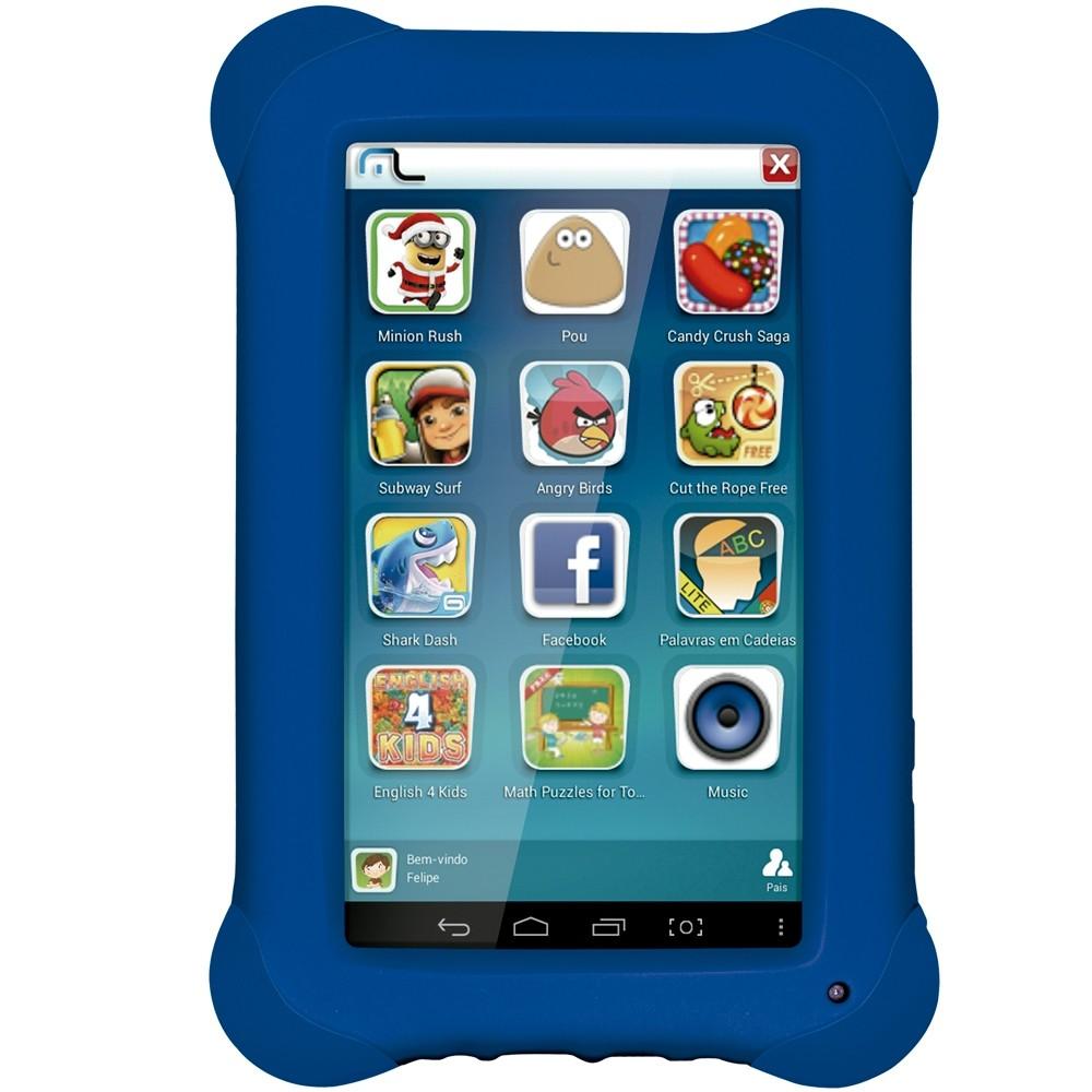 Tablet Kid Pad Multilaser Nb194 Azul