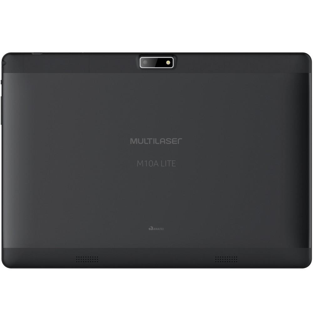 Tablet Multilaser Nb267 M10A Lite Qc|8Gb|1Gbram|3G|10Ips Hd|Preto