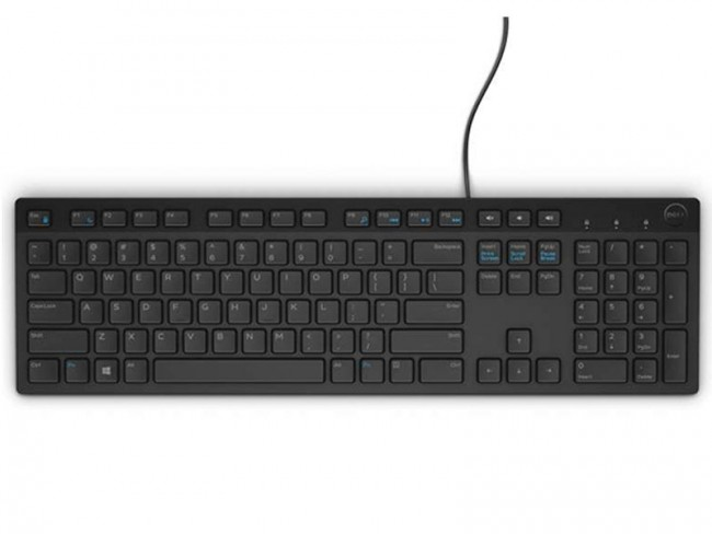 Teclado Dell Multimedia Usb, Modelo Kb216 (Preto) Padrao Us