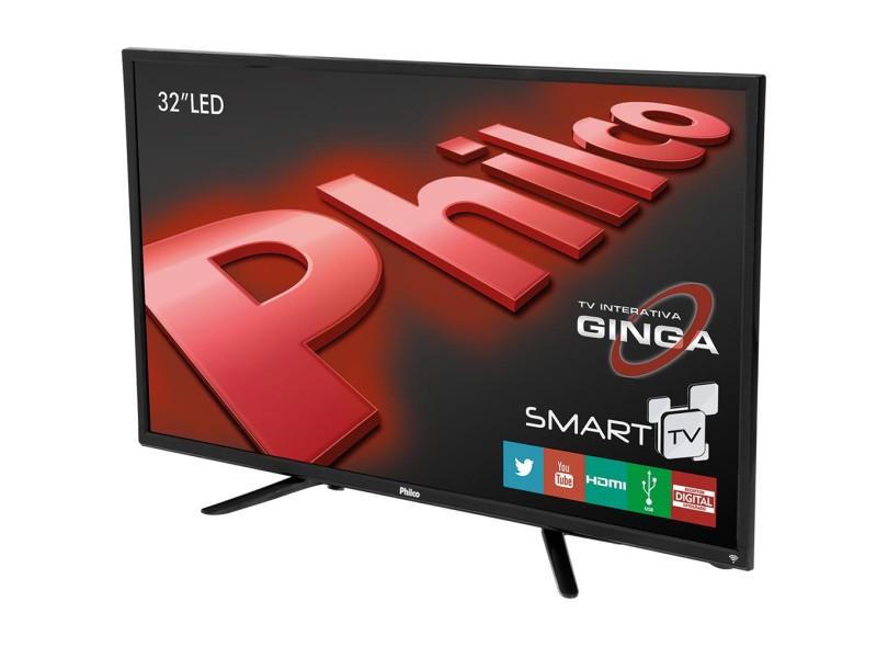 Smart Tv Led 32 Philco Ph32B51Dsgw Hd / Wifi / Hdmi / Usb