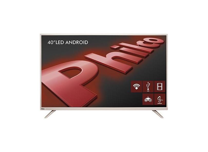 Smart Tv Led 40 Android Philco Ph40F10Dsgwac / Full Hd / Wifi / Hdmi / Usb / Conversor