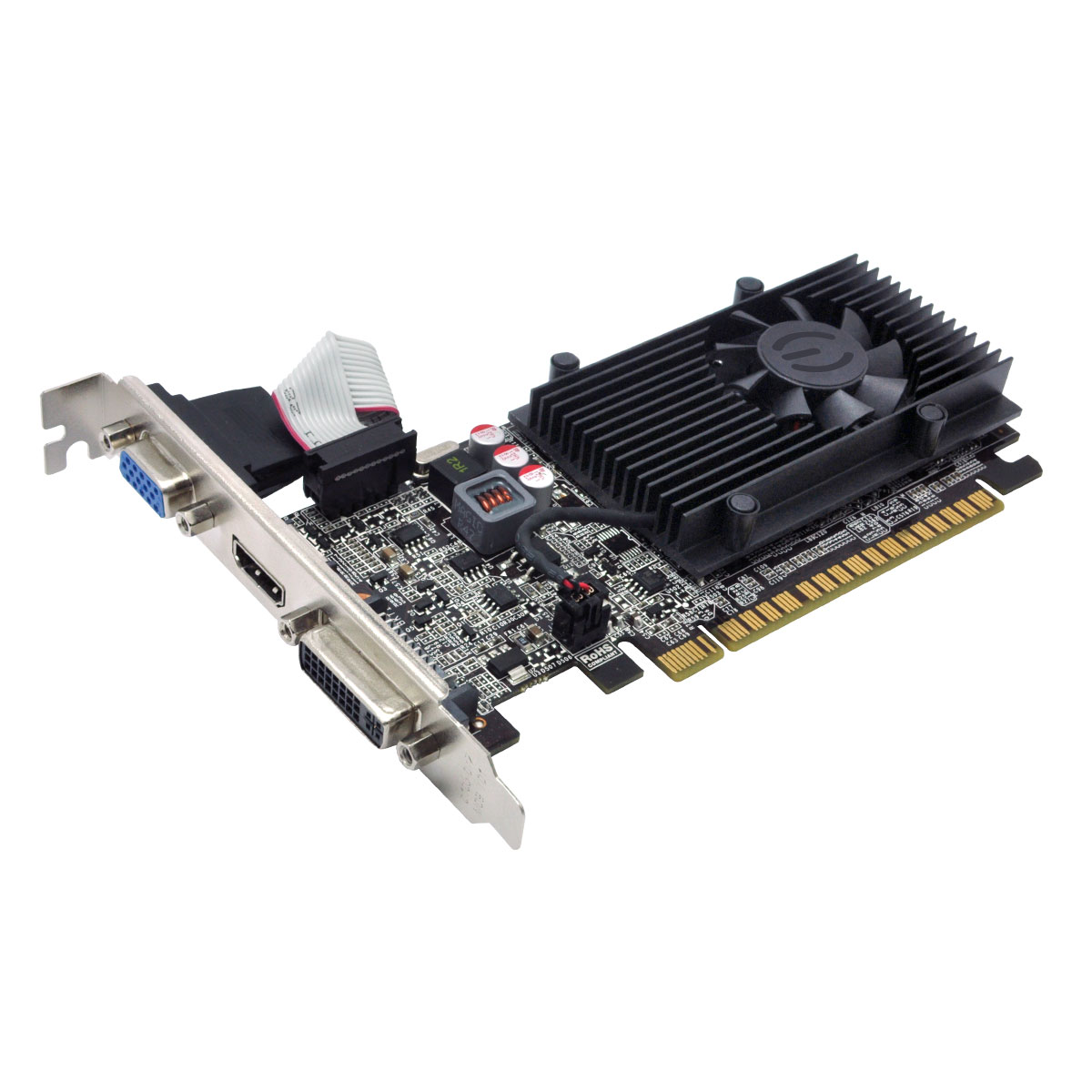 Vga Pci-E 1Gb Evga Geforce Gt610