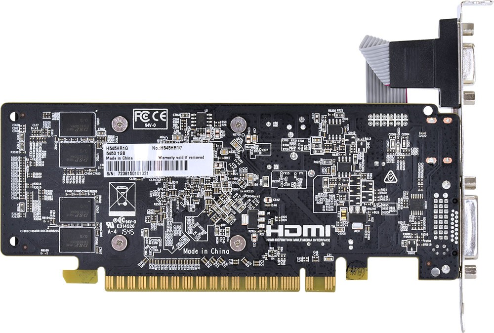 Vga Pci-E 1Gb Pcyes Ddr3 Hd5450 64 Bits