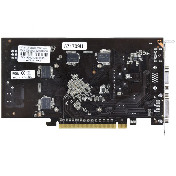 Vga Pci-E 2Gb Pcyes Geforce Gt420 128Bits