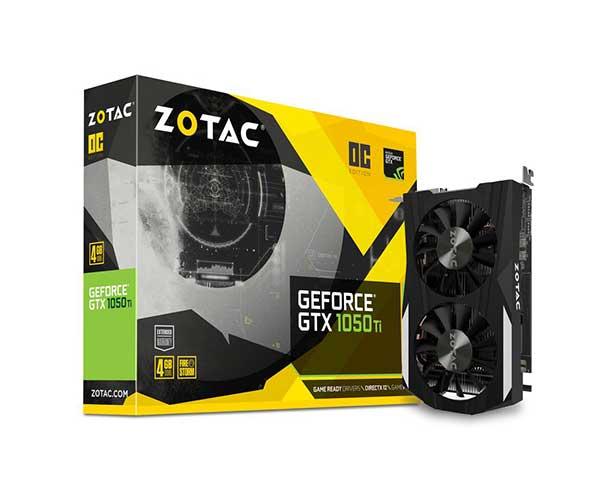 Vga Pci-E Zotac Gtx 1050Ti 4Gb Ddr5 1290Mhz 128Bits