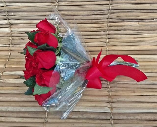 """Rosa vermelhas """"Eu te amo"""""""