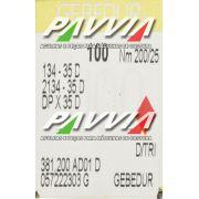 Agulha 134-35 D 200/25 GEBEDUR GROZ-BECKERT  Agulha longa, Caixa com 100 unidades