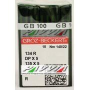 Agulha 134 R ou DPx5 R 140/22 GROZ-BECKERT  Caixa com 100 unidades
