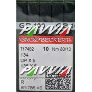 Agulha 134 R ou DPx5 R .80/12 GROZ-BECKERT Pacote com 10 unidades