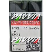 Agulha 134 R ou DPx5 R .90/14 GROZ-BECKERT Pacote com 10 unidades