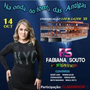 Forró das antigas c/ Fabiana Souto mesa p/ até 4 PESSOAS