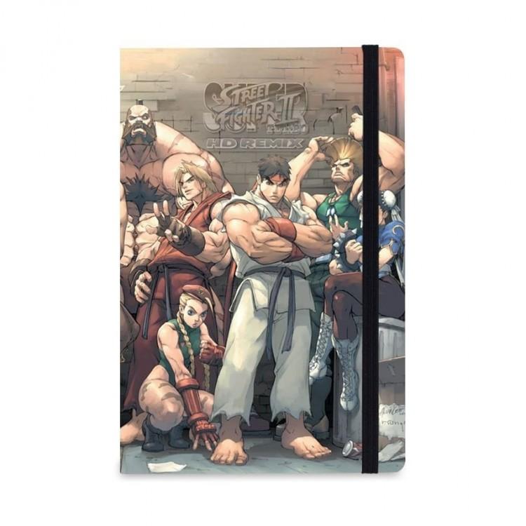 Caderno de Notas Street Fighter