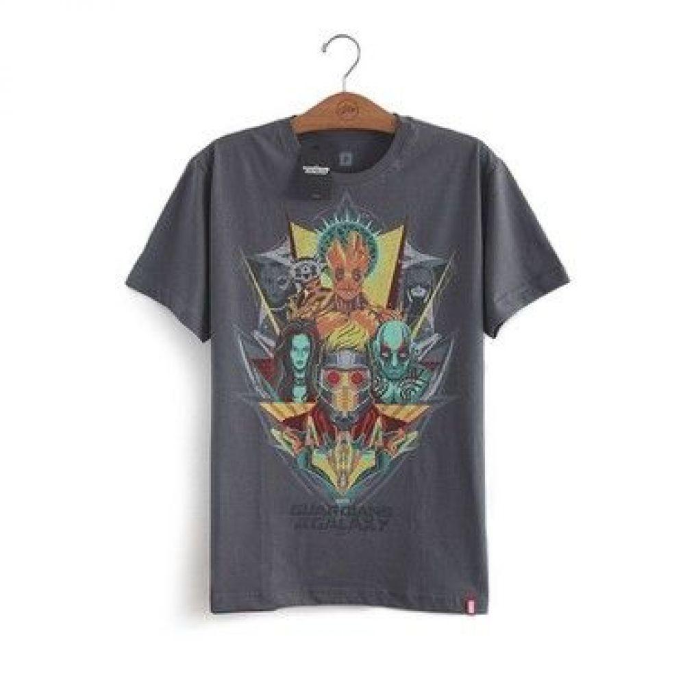 Camiseta Guardioes da Galaxia Rostos