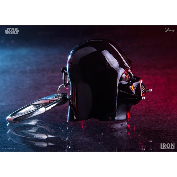 Chaveiro - Darth Vader Helmet - Iron studios - Star Wars