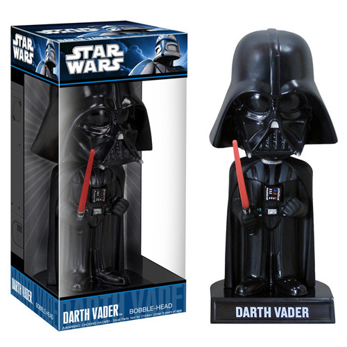 DARTH VADER Bobble head Star Wars Funko Wacky Wobbler