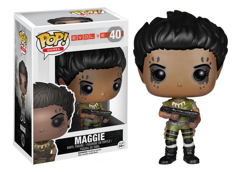 Evolve Maggie Pop Vinyl Funko