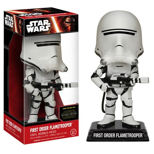 First Order Flametrooper - Star Wars Funko Wacky Wobbler