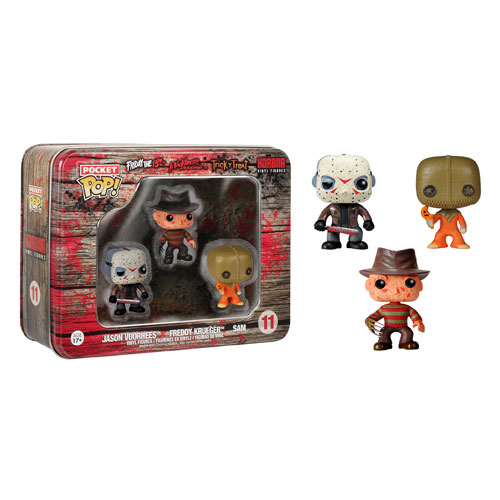 FUNKO POCKET POP: HORROR - FREDDY, JASON, SAM
