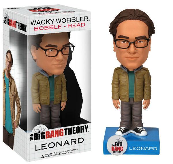 Leonard - The Big Bang Theory Funko Wacky Wobbler