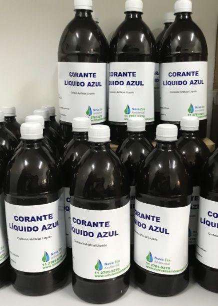 Corante Orgânico Líquido Azul para água de reúso