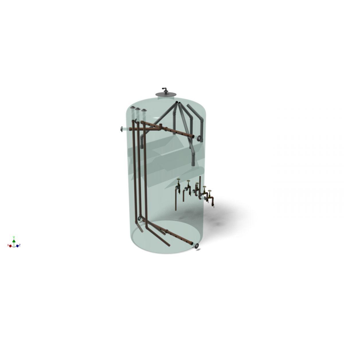 RAFA - Reator Anaeróbio de Fluxo Ascendente